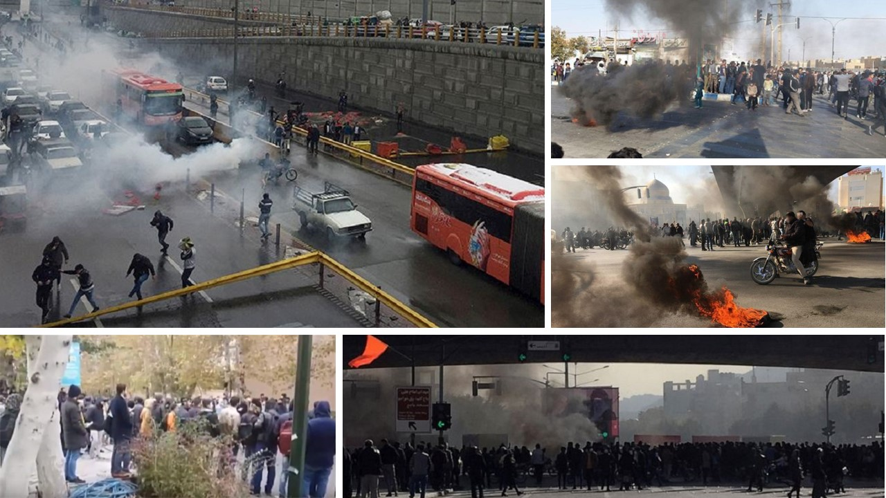 Live Report: Day 6 of Iran Protests – via the MEK's Network