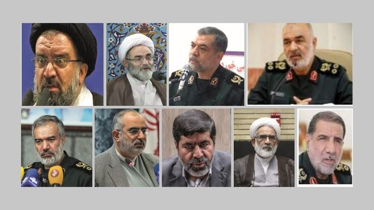 FACT SHEET: Officials Involved in Suppression of 2019 Iran Protests