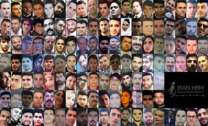The fallen heroes of Iran Protests- November 2019