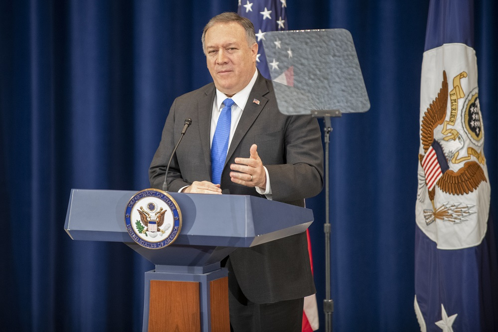 Pompeo: U.S. Stands With Iran's People; The Regime Has Possibly Killed More Than 1,000 Protesters