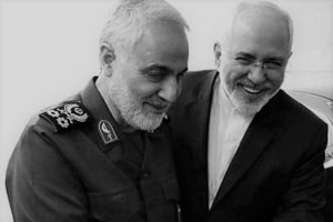 Javad Zarif and Qassem Soleimani