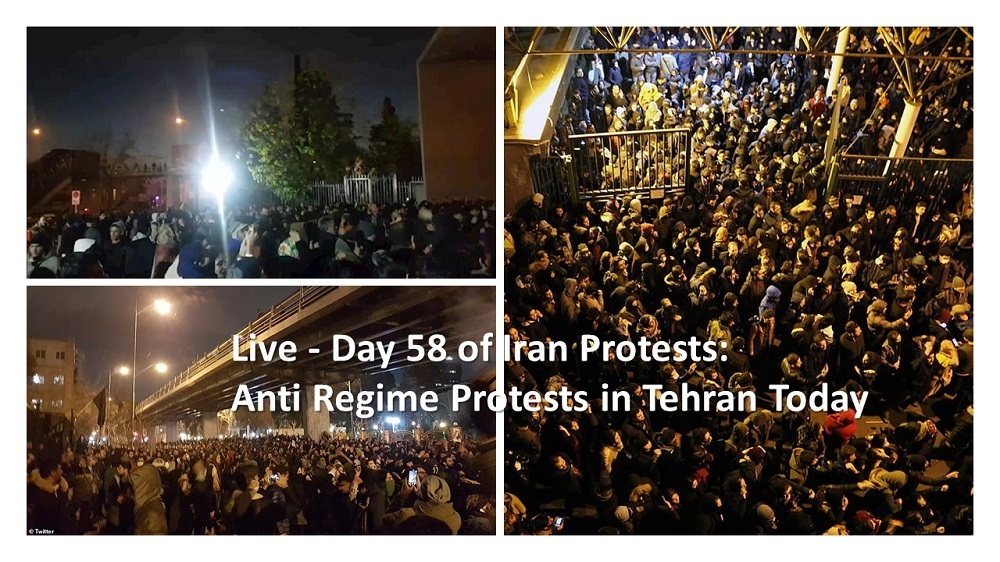 Day 58 of Iran Protests: 3,530 Recorded Iran Protests in 2019