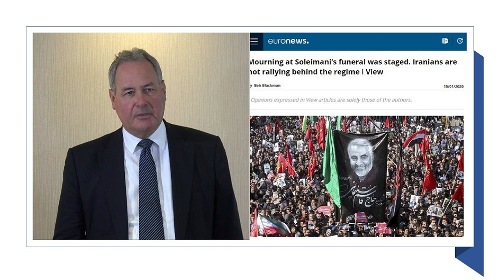 Bob Blackman MP: Iranians Are Not Rallying Behind the Regime