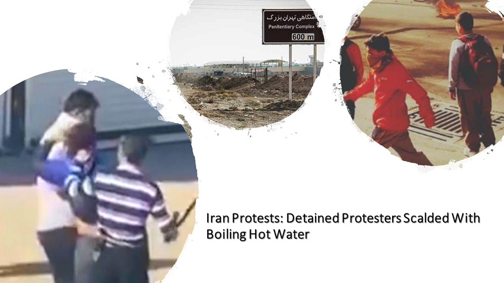 Iran Protests: Detained Protesters Scalded With Boiling Hot Water
