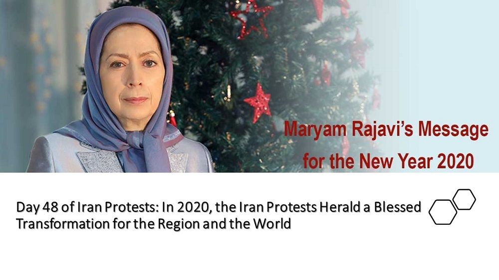 Day 48 of Iran Protests: In 2020, the Iran Protests Herald a Blessed Transformation for the Region and the World