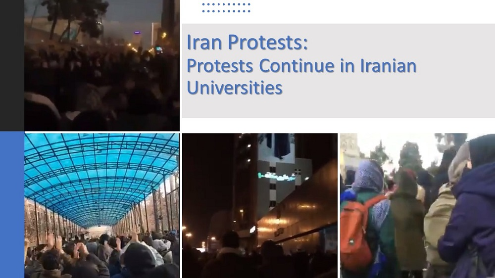 Iran Protests: Protests Continue in Iranian Universities