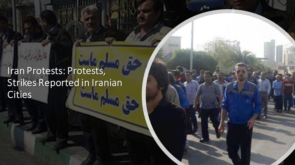 Iran Protests: Protests, Strikes Reported in Iranian Cities