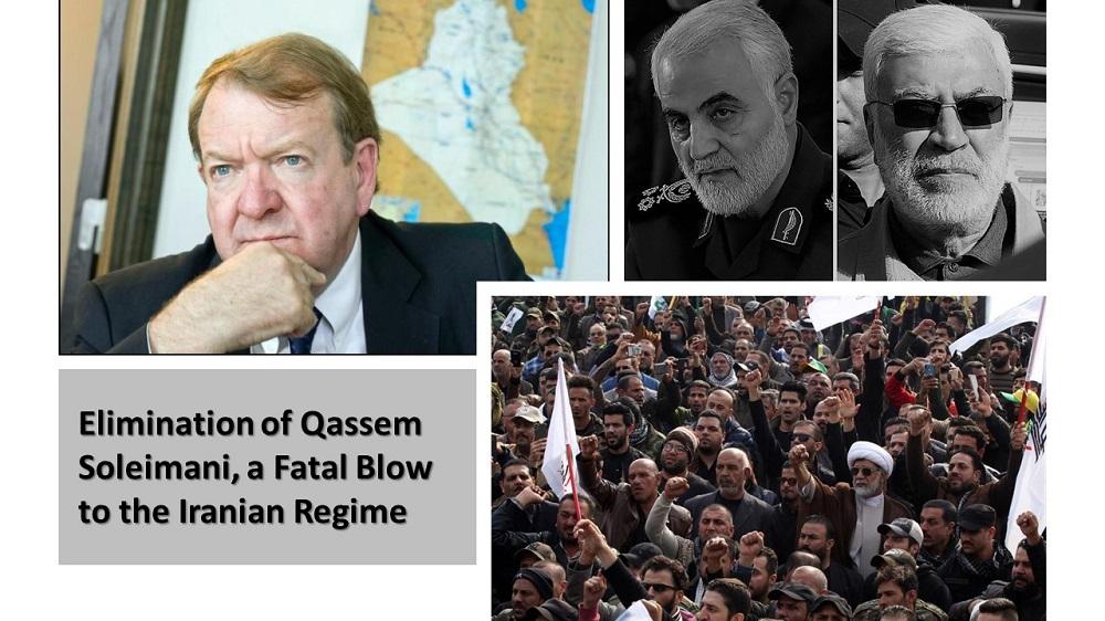 Elimination of Qassem Soleimani, a Fatal Blow to the Iranian Regime