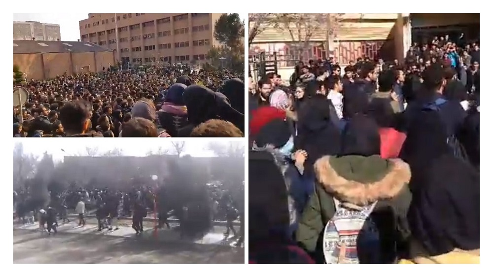 Iran Protests; Continue for Forth Consecutive Day