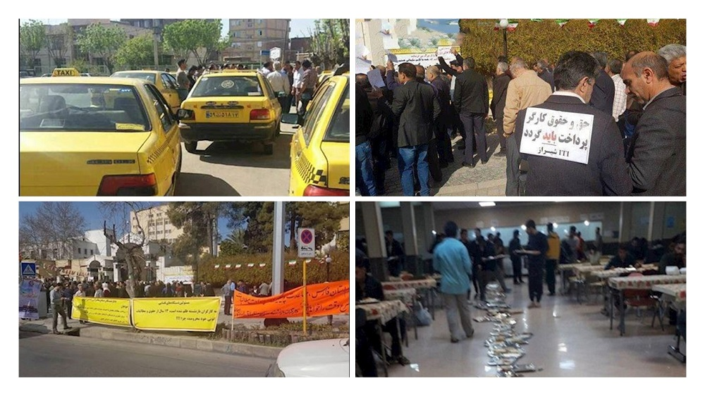 Iran: In recent days, protests and gathering in different parts of the country were held by the students, workers, and drivers.
