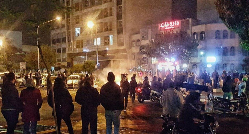 Iran Rises Up Thousands of People Protest in Tehran and Other Cities