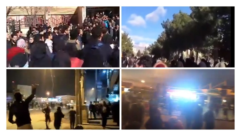 Demonstrations Continues for Second Day Running. Tehran, Karaj, Arak and Damghan Scenes of Protests