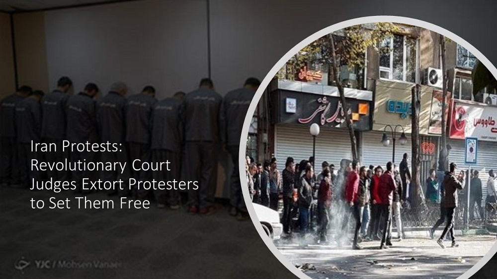 Iran Protests: Revolutionary Court Judges Extort Protesters to Set Them Free