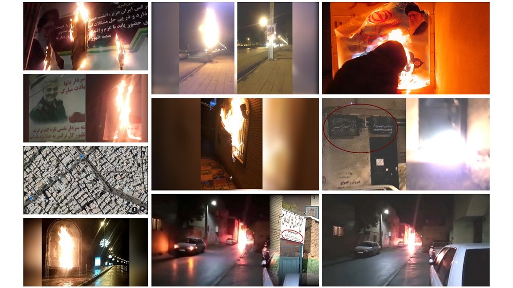 Defiant youth targeted Directorate of Tactical Training Complex of the Regime's Seminaries in Isfahan Province