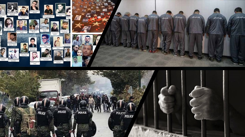Iran regime's Judiciary has issued lengthy prison and other harsh sentences for those detained during the Iran protests in mid-November