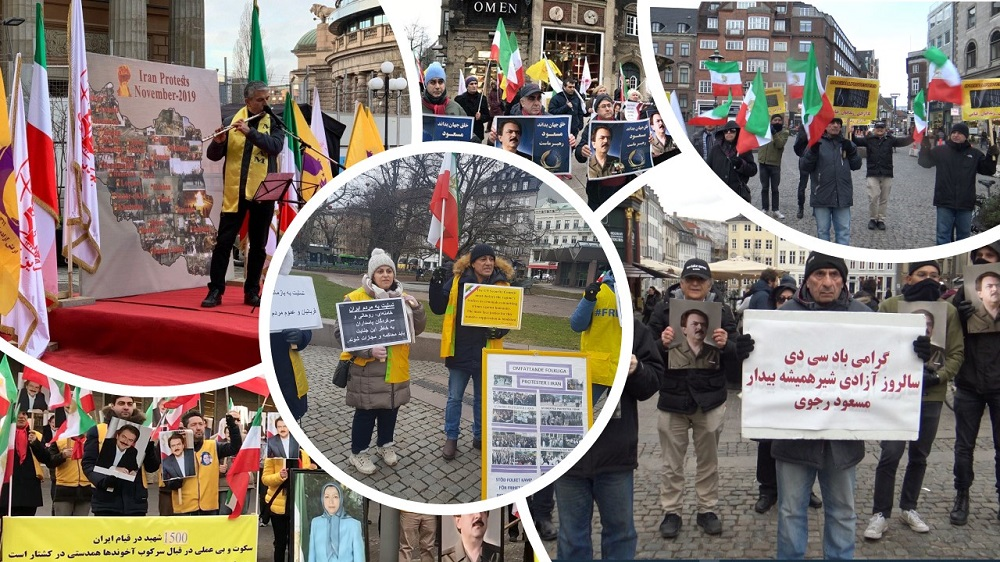 Iranians, MEK Supporters Commemorate the Last Group of Political Prisoners' Freedom in 1979, Express Solidarity With Iran Protests