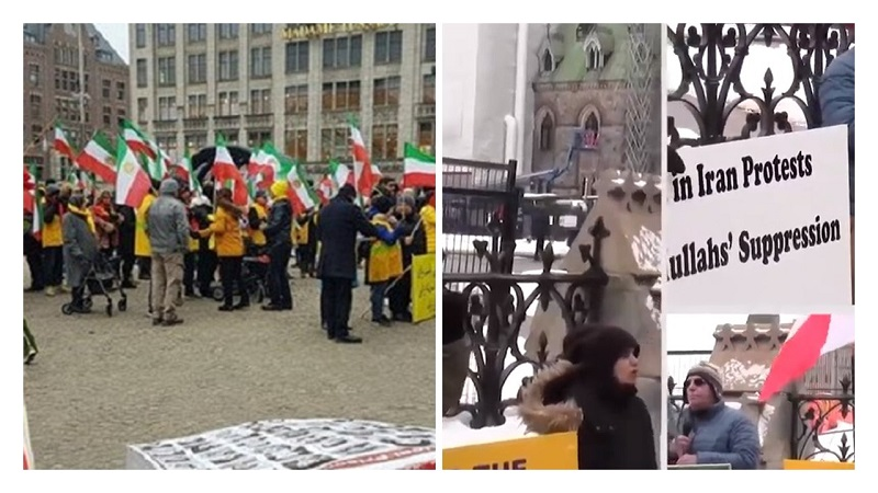 MEK and NCRI Supporters Across the World Echo Iran People's Desire for Regime Change