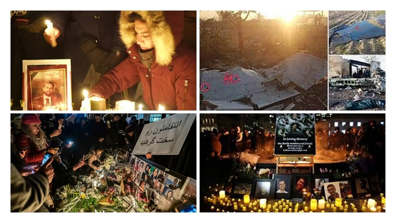Iran's Regime Further Harasses Families of Downed Ukrainian Airliner Victims