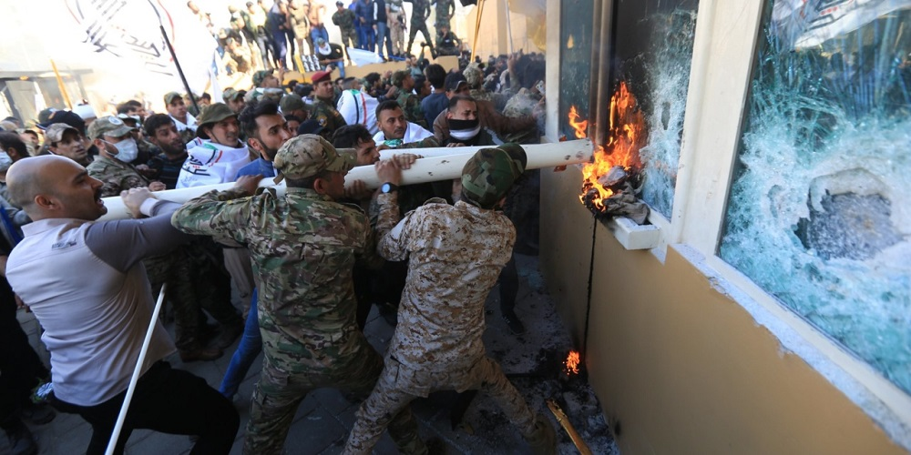 The Attack on the U.S. Embassy in Iraq and Iran Regime's Downfall Crisis