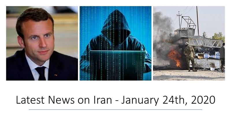 Latest News on Iran - January 24th, 2020