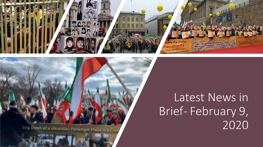 Rallies were held throughout the world by the NCRI and MEK supporters on the 41st anniversary of the 1979 anti-monarchic revolution in Iran