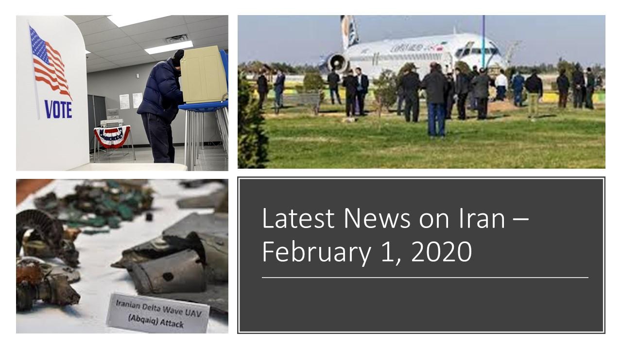 Latest News on Iran-February 1, 2020