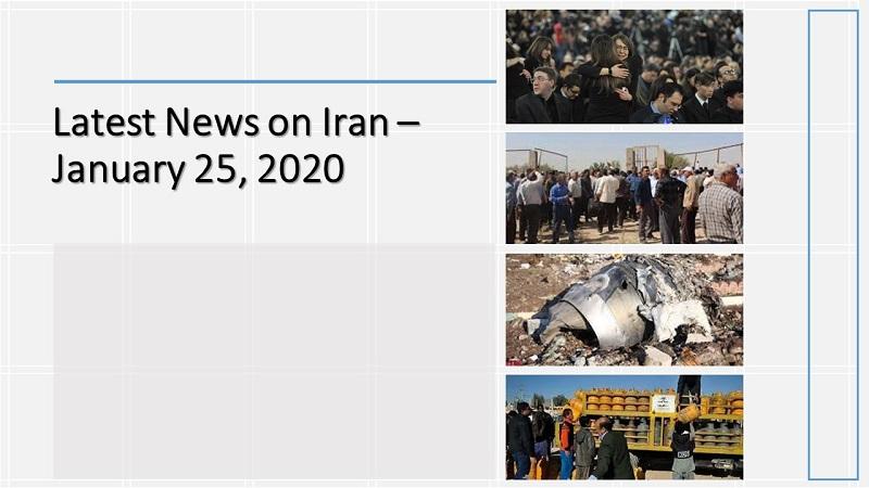 Latest News on Iran – January 25, 2020
