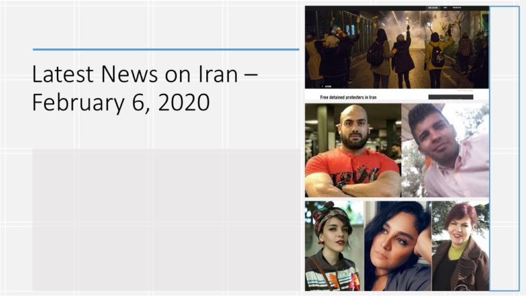 Latest News on Iran – February 6, 2020