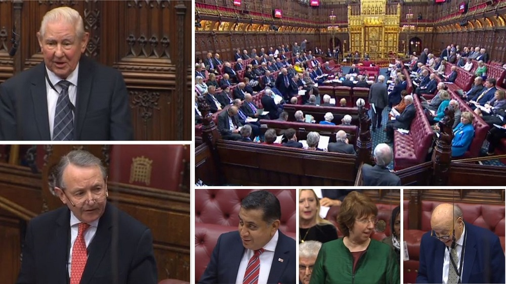 A debate was held at the UK's House of Lords on January 30, members of House of Lords raised concern over the Iranian regime's malign activities in the Middle East and its terrorism abroad as well as its nuclear extortion campaign.