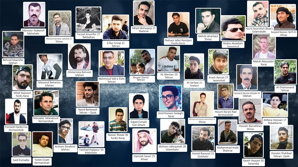29 More Martyrs of Iran Uprising Identified