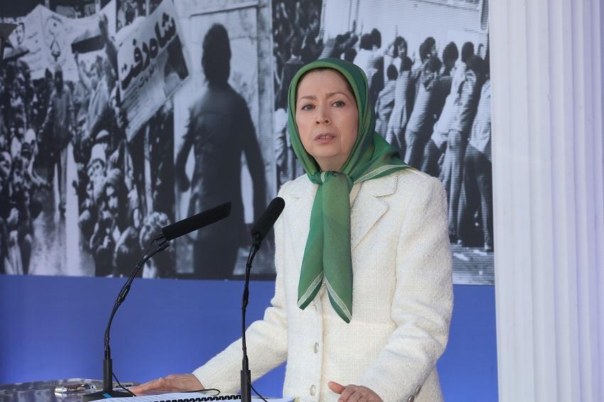 Mrs. Maryam Rajavi's Statement at the Memorial Anniversary of the 1979 Anti-Monarchic Revolution at Ashraf-3
