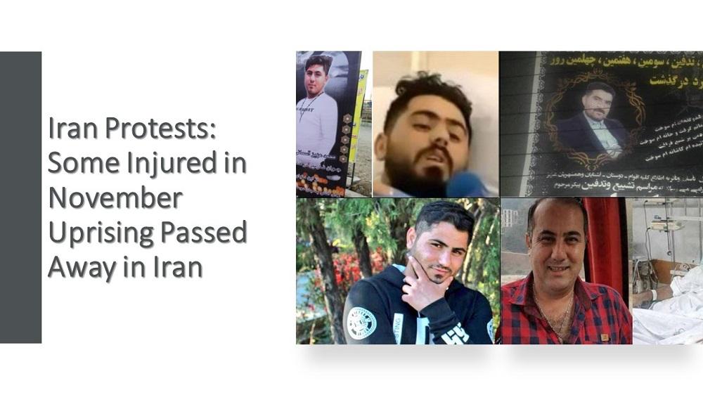 Iran Protests: Some Injured in November Uprising Passed Away in Iran