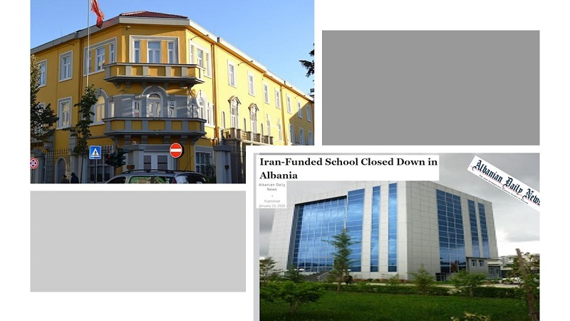 Albania Closes Iran Regime Espionage, Terrorism Training Center, the Saadi Foundation, After Expelling Two Tehran Diplomat-Terrorists