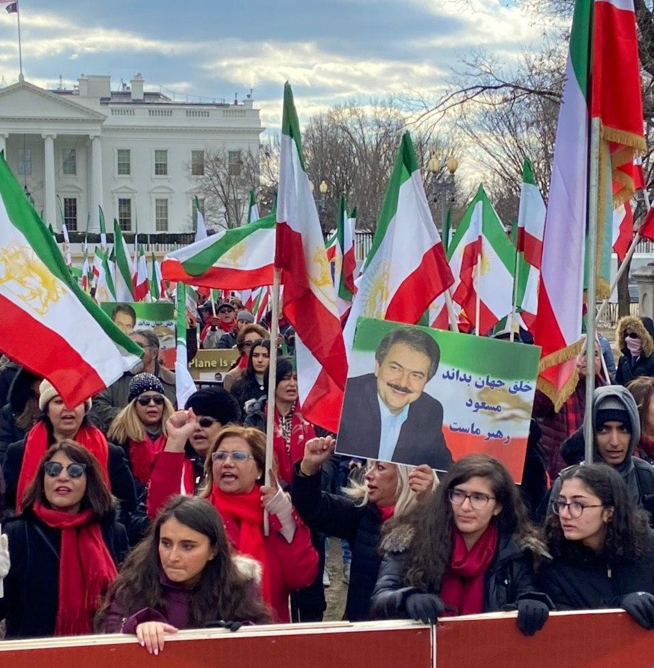 Washington DC, Iranian demonstration