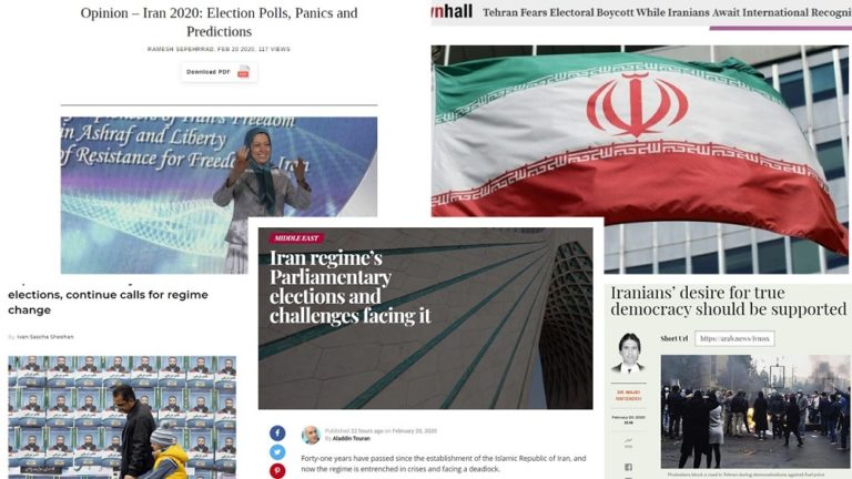Iran Regime's Parliamentary Election Crises – Articles by Renowned Political Figures