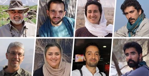Eight environmentalists