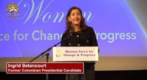 Ingrid Betancourt Former Colombian Presidential Candidate