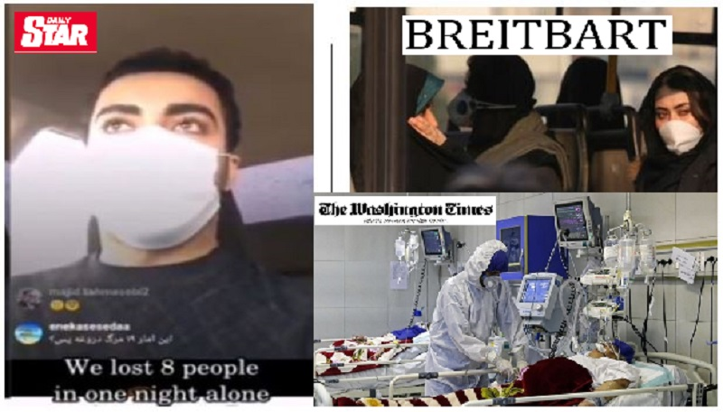 International media outlets cover MEK's announcements on death toll of Coronavirus outbreak in Iran