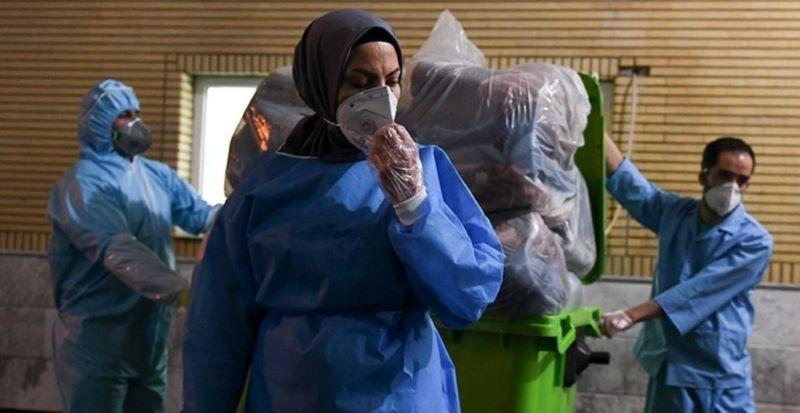 Iran, Qom, Kamkar hospital, the place of COVID-19 patients