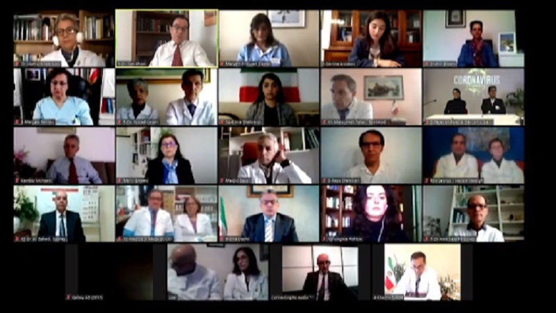 Iranian physicians and medical experts from across the globe discuss the coronavirus outbreak in Iran - Internet conference - March 8, 2020