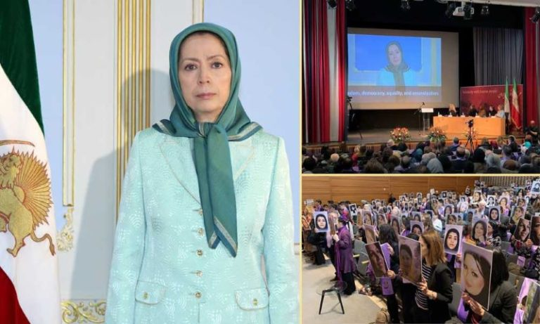 Stockholm, Iranian Resistance: Conference on the eve of International Women's Day