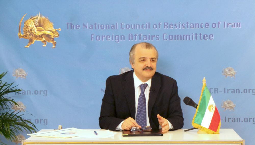 Mohammad Mohaddessin Chairman Foreign Affairs Committee of the National Council of Resistance of Iran