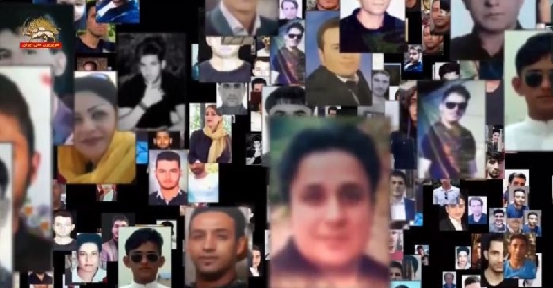 Some martyrs of Iran protests in November 2019