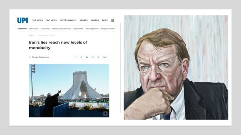 Struan Stevenson – Iran's Lies Reach New Levels of Mendacity