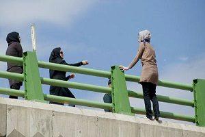 Iran Suicide in public