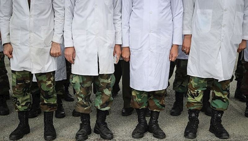 The presence of military and repressive forces in Iranian cities under the pretext of confronting Coronavirus