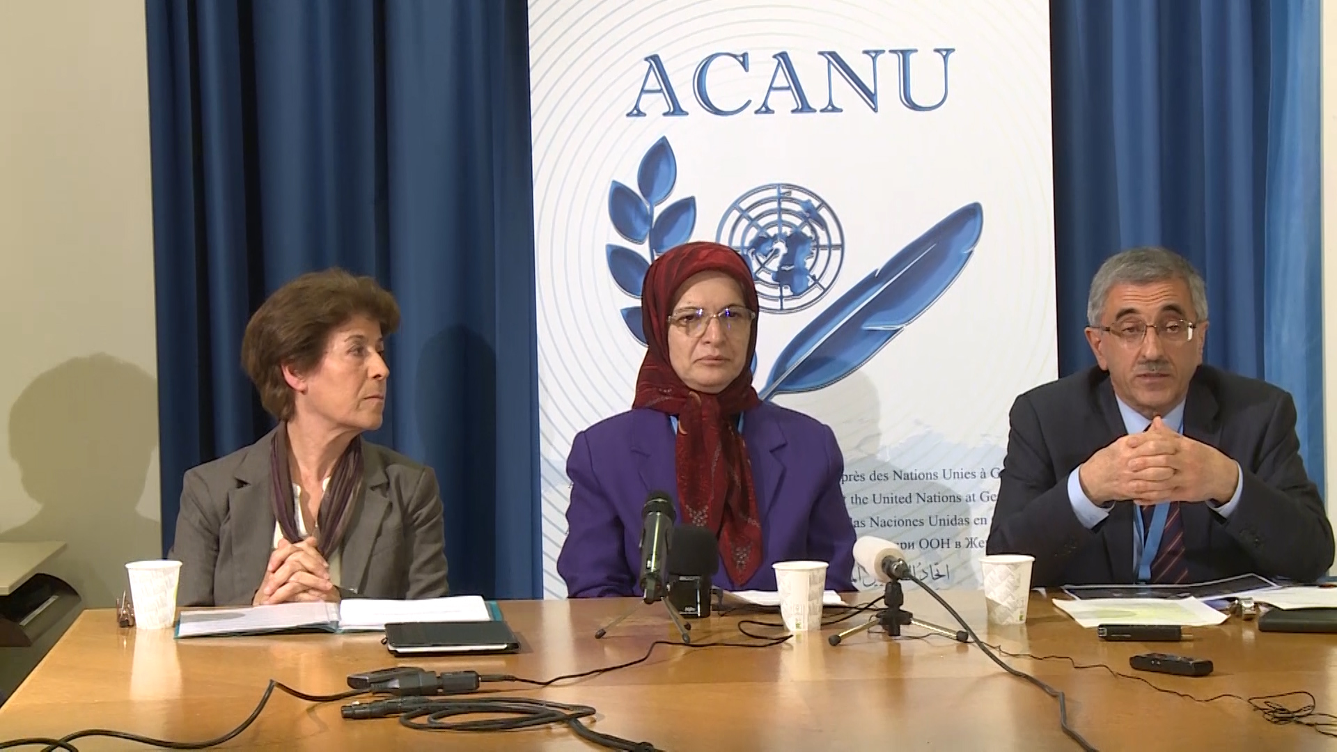Thursday, March 12, 2020, in a briefing held at the Association of Accredited Correspondents at the United Nations (ACANU)