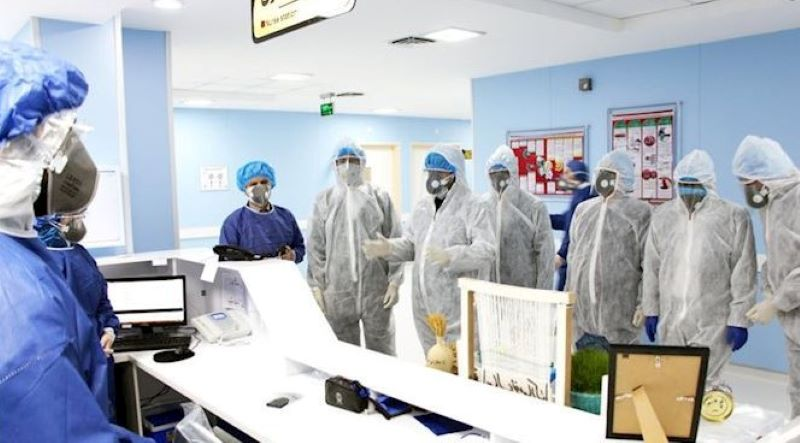 Iran: Coronavirus outbreak, April, 2020