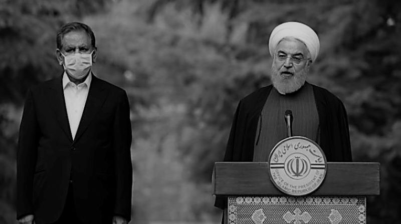 Hassan Rouhani is trying to lift US sanctions under the pretext of helping to fight the coronavirus by lying