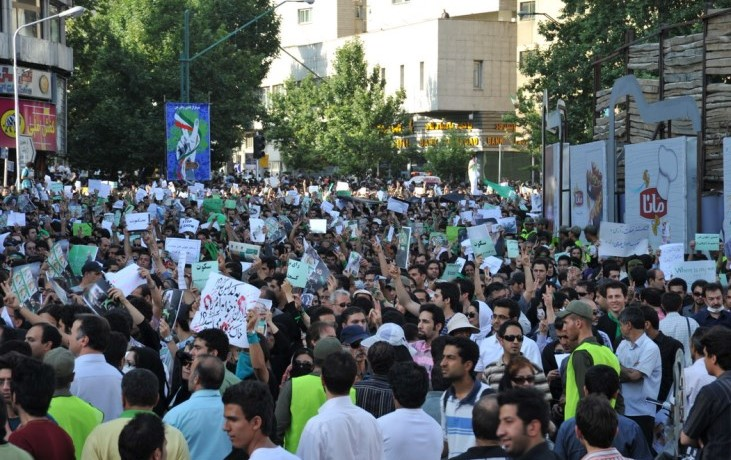 In the Wake of Uprisings and Crises, Iranians Demand Regime Change